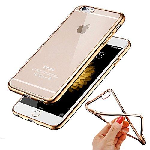 2979c49a883 Cokitec-Carcasa para iphone 6 & 6S silicona ESS Tech® cristal clear  contorno de