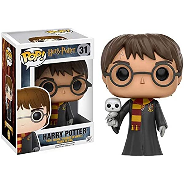 Funko 599386031 - Figura Harry Potter con hedwidge: Amazon.es ...