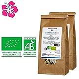 Tè Dimagrante Bio–Made in France–Cure 30giorni–Ingredienti 100% naturali per raggiungere i vostri obiettivi Benessere e dimagrante