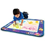 AquaDoodle Drawing Mat with Neon Color Reveal at amazon