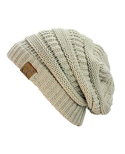 Unisex Warm Weich Zopfmuster Mütze