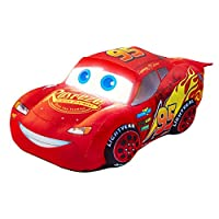 Disney 257CAA01EM Cars Lightning McQueen Plush Pal Night Light Soft Toy by Go Glow