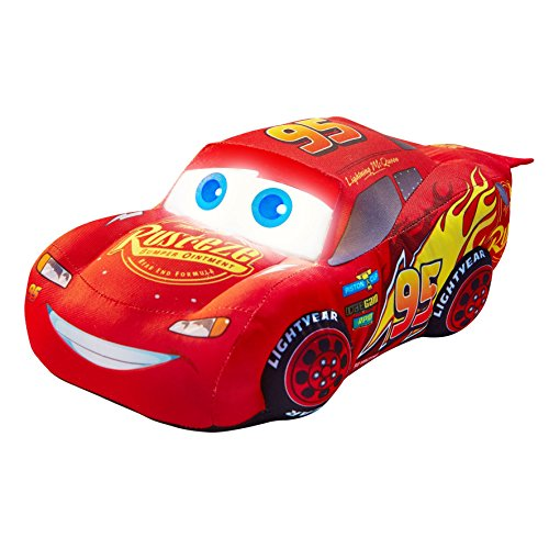 Disney-257CAA01EM-Cars-Lightning-McQueen-Plush-Pal-Night-Light-Soft-Toy-by-Go-Glow