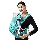 Babytrage atmungsaktiv Das Gesäß der Sitzträger Ergonomisches Design Arten von Möglichkeiten zu tragen herausnehmbare Sitze tragbar Multifunktions atmungsaktive Mesh Babybauchtragen