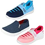 Bersache Combo Pack Of 3 Sports Shoes With Loafers Shoes