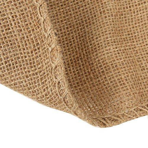 Modo Pack Confezione da 4 sacchi di patate da juta 23 x 38 pollici (97 x 60 cm). Robusta borsa in juta per conservazione biodegradabile