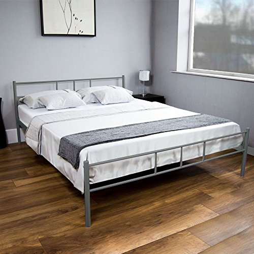 home-discount-dorset-double-bed-silver