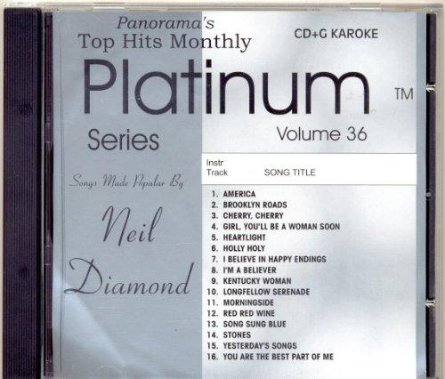 Top Hits Monthly Platinum Series: Neil Diamond, Volume 36 (UK Import) (Diamond Cd Neil)