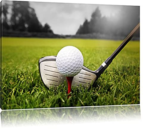 Golf Tee Noir / Blanc, Taille: 120x80