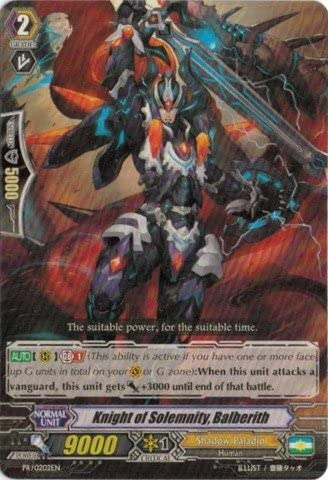 Cardfight!! Vanguard TCG - - - Knight of Solemnity, Balberith (PR/0202EN) - Cardfight! Vanguard Promos by Cardfight!! Vanguard TCG   Insolite  f3c6a7