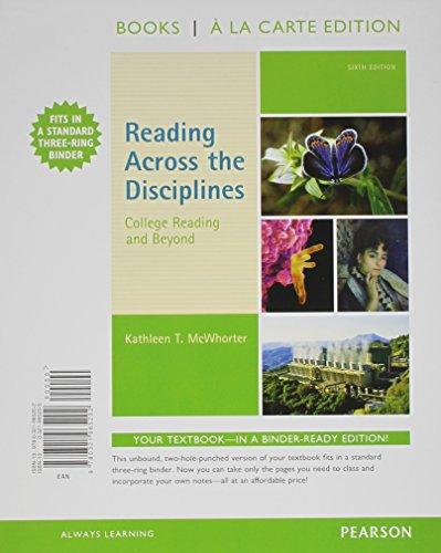 Ebook] PDF Reading Across the Disciplines: College Reading