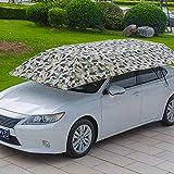 WOSOSYEYO Halbautomatischer Auto-Zeltschirm mit Faltbarer Fernbedienung zum Abdecken der Fernbedienung
