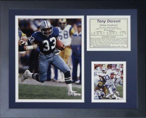 Tony Dorsett gerahmtes Foto Collage, 11x 35,6cm ()