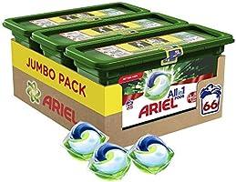 Ariel Allin1 Pods + Unstoppables Lessive En Capsules, Parfum Aérien avec une Fraîcheur Longue Durée