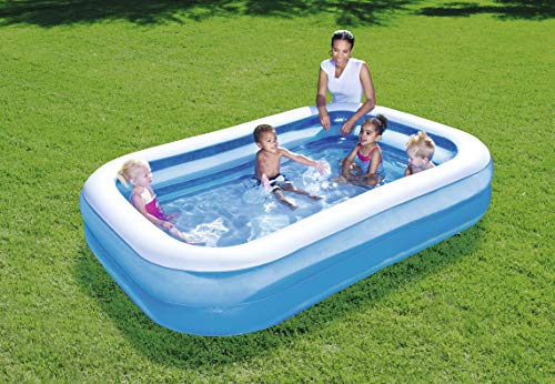Bestway Family Pool Blue Rectangular - 2