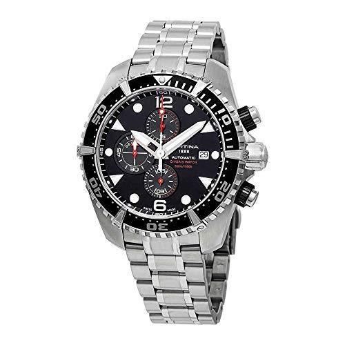 Certina DS Action Reloj de Hombre automático 45.7mm de Acero C032.427.11.051.00