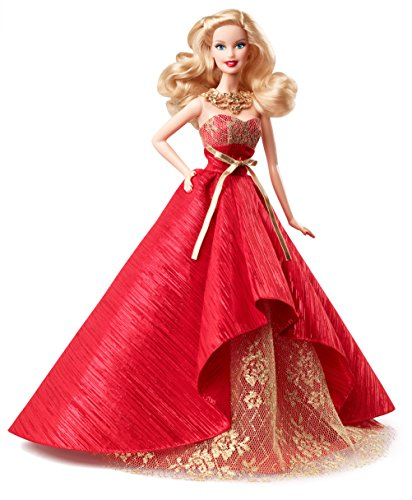 Barbie Collectors Holiday Doll with Evening Gown - Christmas Collector Figure - 2014
