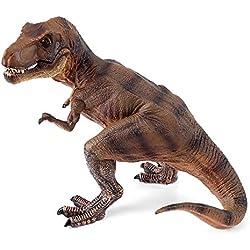Mini figura de dinosaurio realista, juguetes de dinosaurio dinosaurio Tiranosaurio sólidos de plástico para niños pequeños Niños regalo de cumpleaños Juguete educativo temprano Tirano-saurio Rex