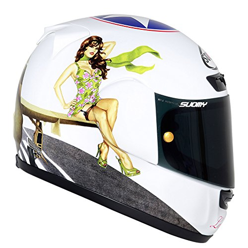 Suomy Motorradhelm Apex die Cocca, Mehrfarbig (La Cocca), L (Solar Bell Helm)