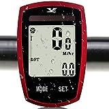 Best Bike Speedometers - [Solar Energy Charging] Wireless Bike Computer Automatic Wake-up, Review