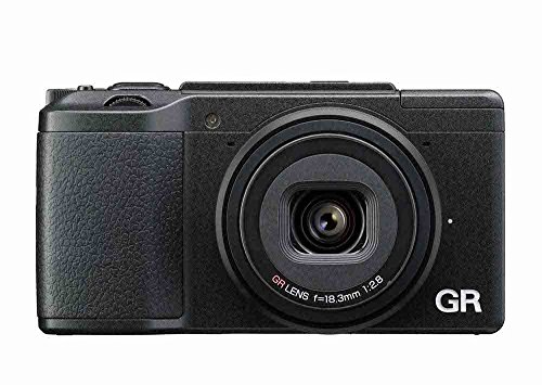 Ricoh GR II - Digitale Kompaktkamera Kit inkl. 28 mm f/2.8 Objektiv