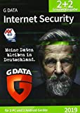 G DATA Internet Security (2019) / Antivirus Software / Virenschutz für 2 Windows-PC und 2 Android-Geräte / Trust in Ge