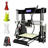 3D Printer, LESHP High Precision Desktop Prusa i3 3D Printer with All Metal