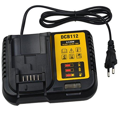 Ersatz DeWALT DCB112 10,8 V bis 18 V Lithium-Ionen-Ladegerät Dewalt Lithium-ionen-batterien