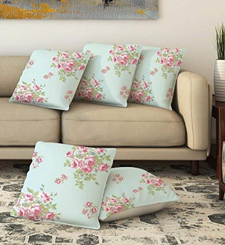 Dekorative Kissen Abdeckung Floral Bedruckte Quadrat Throw Sofa Couch Bettwäsche Kissenbezug 16
