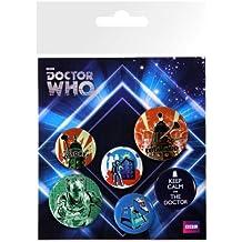 GB eye LTD, Doctor Who, Retro, Pack de Chapas