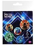 GB eye LTD, Doctor Who, Retro, Set di spille