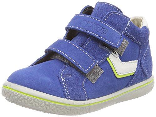 Ricosta Jungen Laif Hohe Sneaker, Blau (Azur), 27 EU