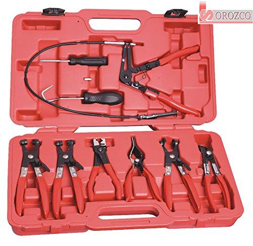 Preisvergleich Produktbild Kit Zangen für Schlauchschelle 9 Teile in Koffer