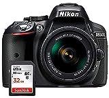 Nikon D5300 - Spiegelreflexkamera + Objektiv AF-P DX NIKKOR 18-55mm 1:3.5-5.6G VR - Schwarz