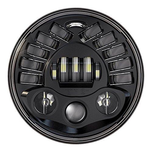 autofy pro rider 7-inch headlight with indicator teeth led and drl Autofy Pro Rider 7-inch Headlight with Indicator Teeth LED and DRL 51G56H1yGHL
