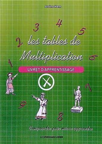 Les tables de multiplication : Livret d'apprentissage