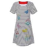 Information Voici une jolie robe T-shirt!  Fabriqué à 100% en coton, il est extrêmement doux et confortable à porter. La belle impression et la couleur naturelle mettent l'accent sur un style animé et charmant.  Si vous souhaitez connaître plus de dé...