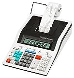 Citizen 350 DPA Druckender Tischrechner Weiß