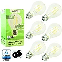 6x National Electronics® | E27 5W LED 550 lumen |