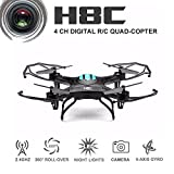 EACHINE H8C Quadcopter With 2.0MP HD Camera 2.4G 6 Axis RC Quadcopter Drone RTF Mode 2 from Eachine