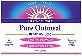 Heritage Store Bath Soap, Pure Oatmeal, ...