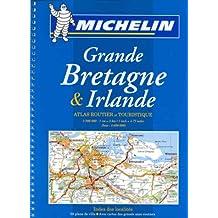 Atlas routiers : Grande Bretagne, Irlande (format A4, spirale)