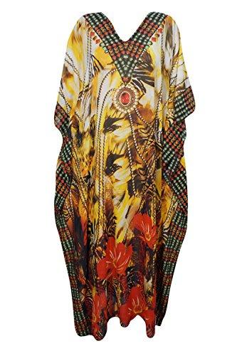 Boho Chic Designs - Copricostume - Kimono -  donna Yellow