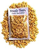 Gold Glimmer Stars Sugar Sprinkles 25g Cake & Cupcake Decorations