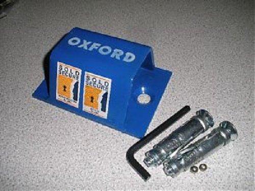 Secure-a-bike 10mm x 1.2m de chaîne avec Excell M50Eurd Lock combiné avec un Oxford Bruteforce Mini Ancre