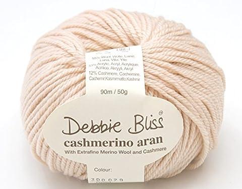 Debbie Bliss Cashmerino * * Aran * * Hand Strickgarn, 50g 079Nude