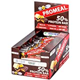 Volchem Promeal Protein 50% / Barretta Proteica / 20 x 60 g/Gusto Yogurt
