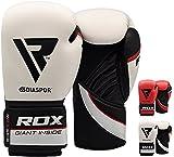 RDX Boxhandschuhe Muay Thai Boxsack Training Kickboxen Sparring Maya Hide Leder Boxing Gloves Sandsack