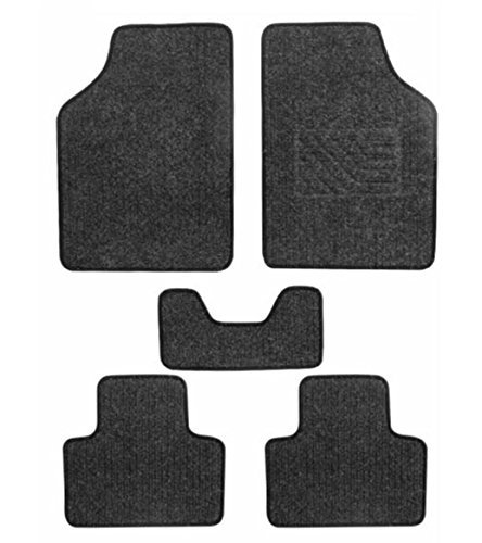 Autosun Universal Carpet Black Car Floor / Foot Mats (Set Of 5)  available at amazon for Rs.595