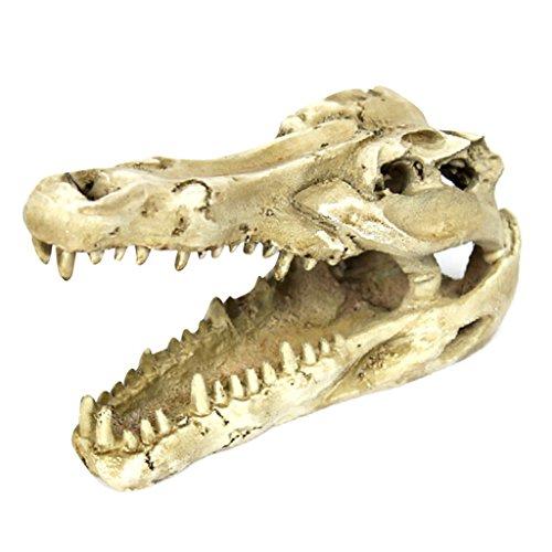 Sharplace Schildkröten Höhle Reptilien Haus Terrarium Zubehör Für die Schildkröte, Eidechse, Frosch, Schlange, Spinne,18,8x8x6cm